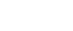managedservices.co.uk Logo Whiteout